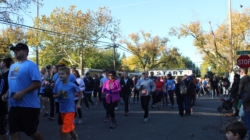 Students participate in annual Turkey Trot race
