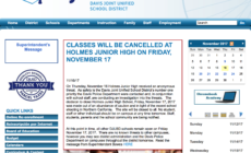 Junior high closed due to gun threat