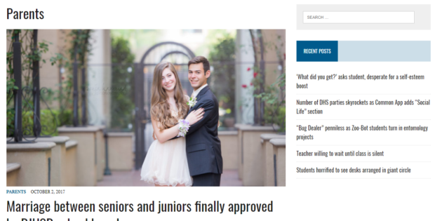 Bluedevilinquirer.com satirizes DHS campus