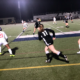 Women's blackout soccer game ends wet and victorious