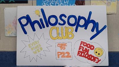 CLUB PROFILE: Philosophy Club