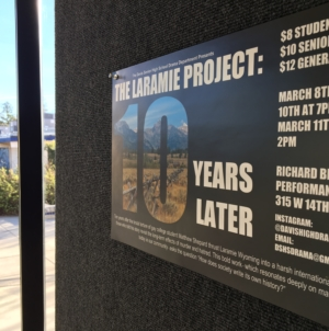 "PREVIEW: ""The Laramie Project: 10 Years Later"""