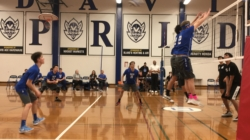 Men's volleyball beats Sheldon in tight match