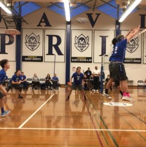 Men's volleyball beats Sheldon in tight match