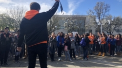 Students stage walkout to stand against recent school shootings