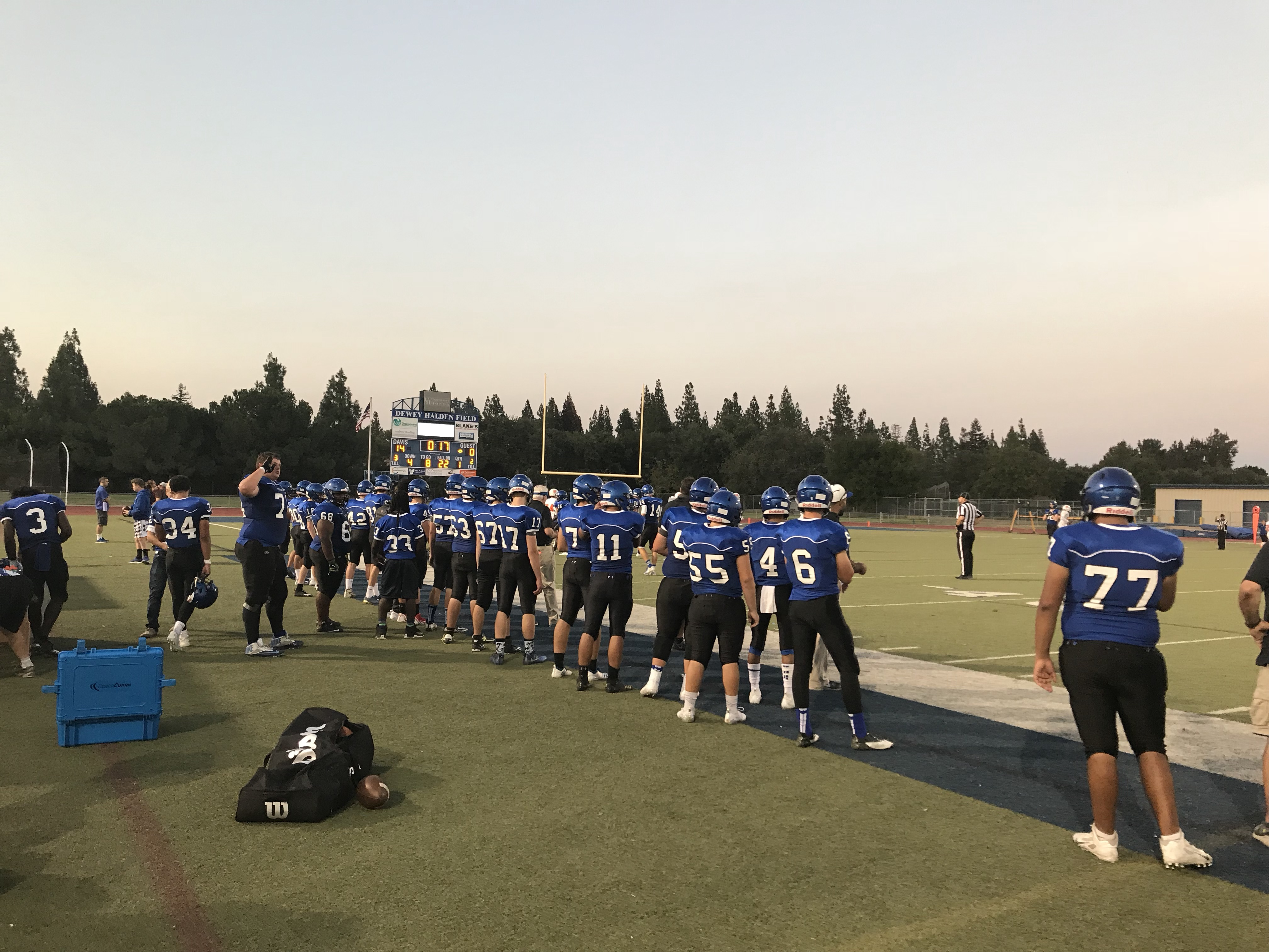 Football continues win streak heading into the school year