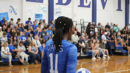 """Devils """"play with heart"""" at Blue Out"""