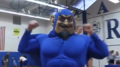 Students mourn the loss of Blue Devil mascot