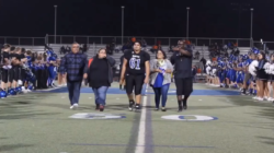 HIGHLIGHTS: Football, cheerleading and dance senior night