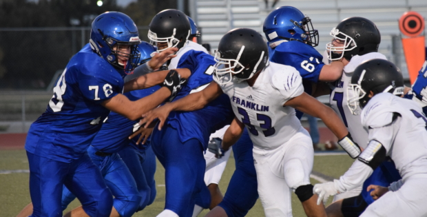 Blue devils shutout wildcats in a triumphant homecoming victory