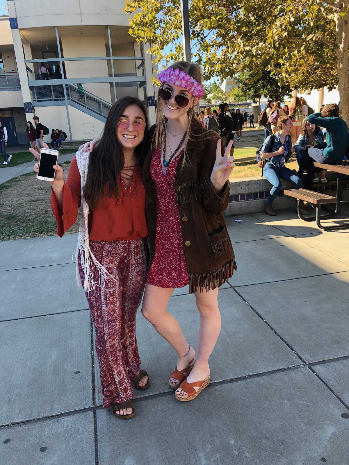 Hippies hit the waves