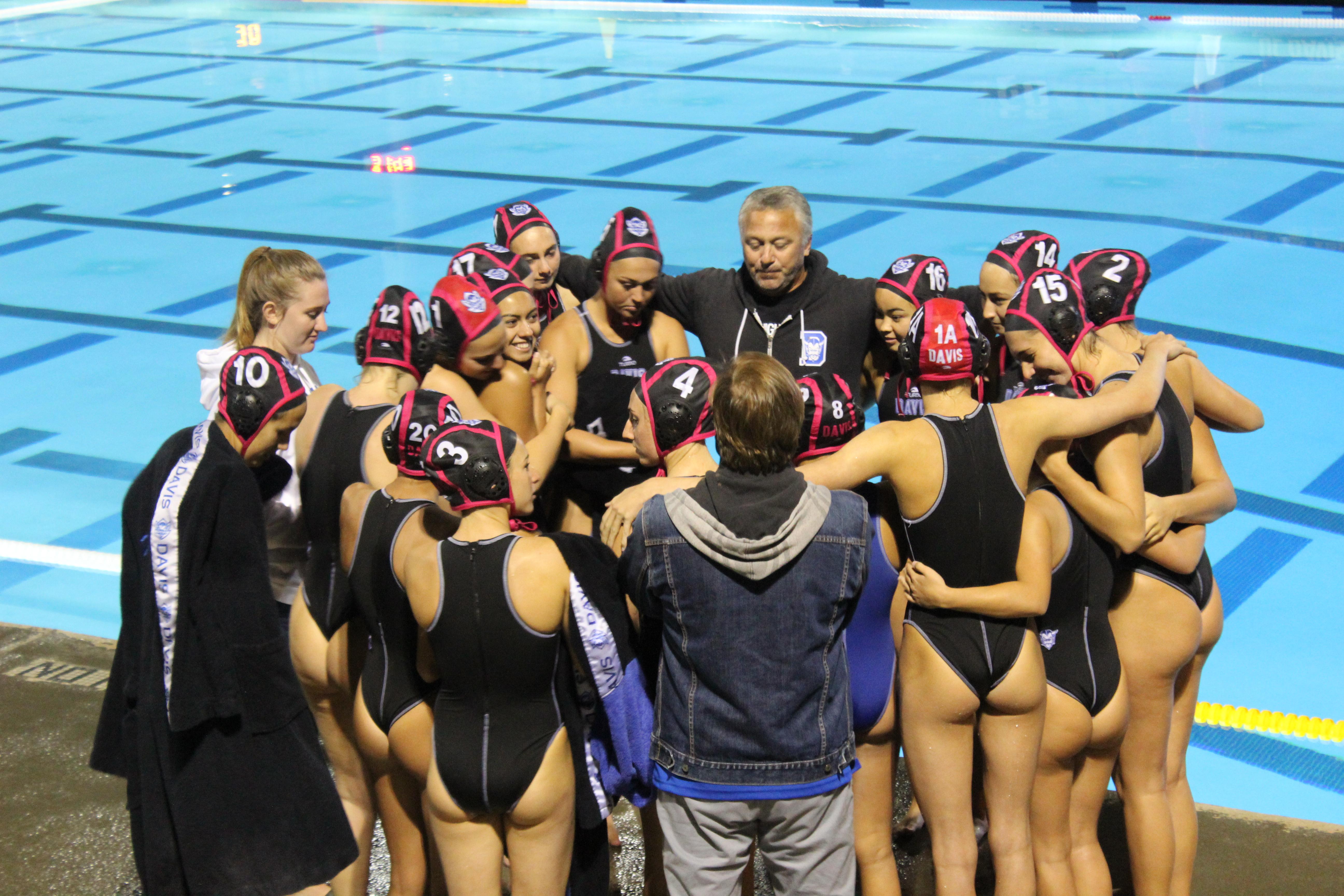 Women's water polo strikes down St. Francis on Senior Night
