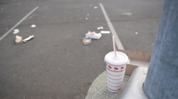Opinion: VMC parking lot is not a trash can