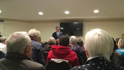 Garamendi attends Green New Deal town hall gathering