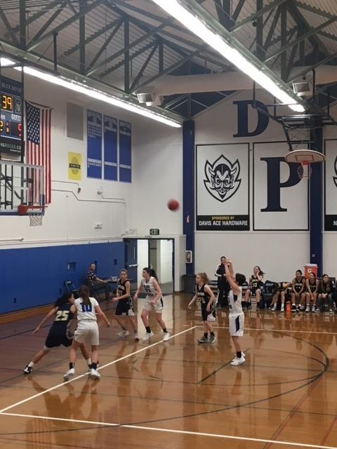 JV women's basketball dominates Napa – Blue Devil Hub