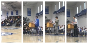 ASB candidates give speeches at elections rally