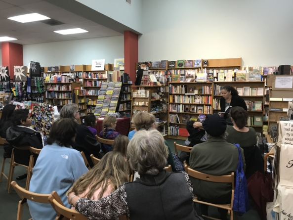 Local author promotes reading and representation