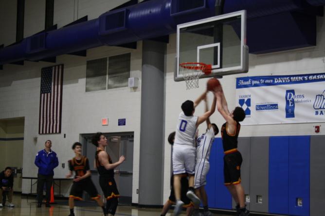 JV men's basketball ends season with bitter loss