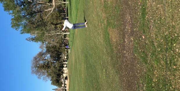Men's golf begins with victory