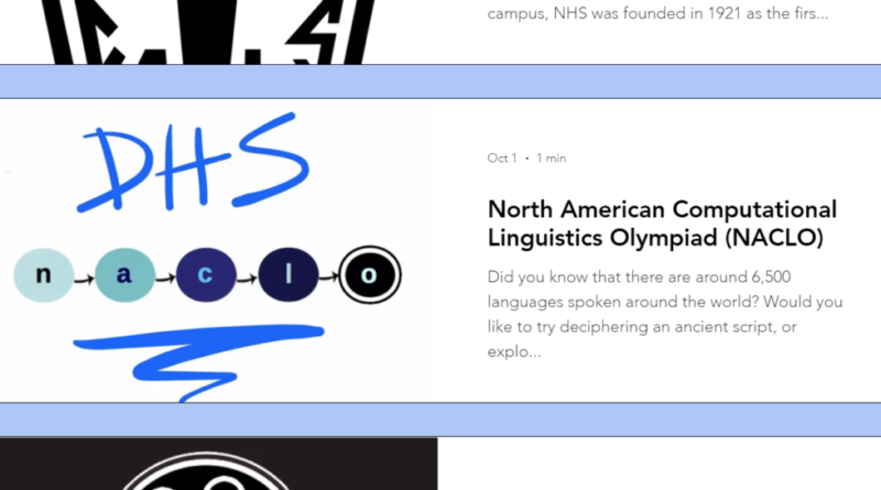 North American Computational Linguistics Olympiad's profile on the Davis High club website
