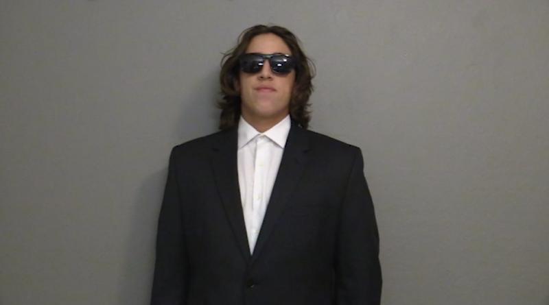 BlueDevilHUB.com editor Saul Israel dressed up as a secret agent