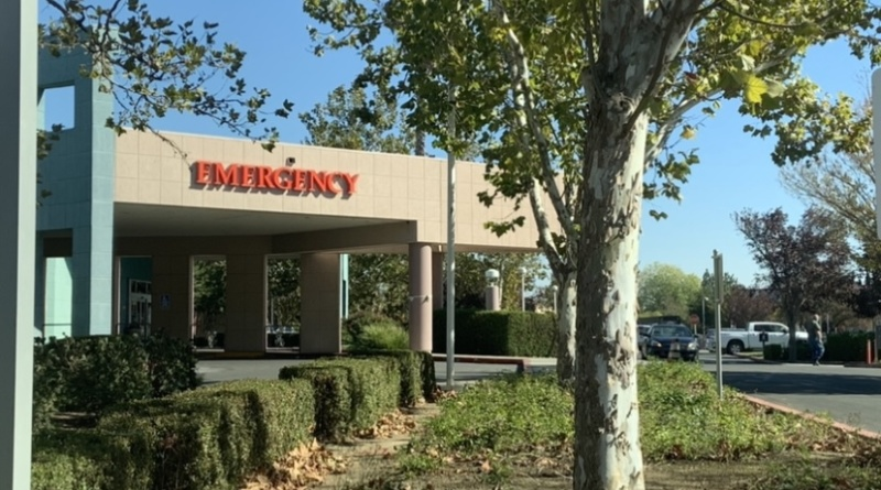 The emergency room at Sutter Health in Davis.