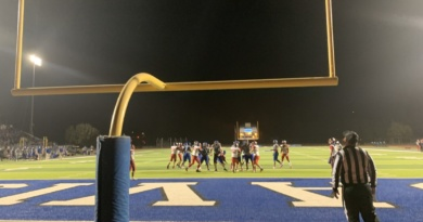 Varsity football catches a Homecoming victory